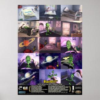 BlastOff!™ Story & Awards Poster