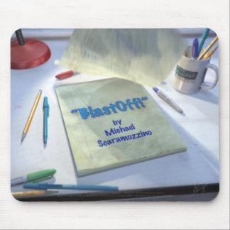 BlastOff Title Mouse Pad