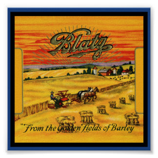 Blatz Beer Poster