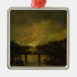 Blaze in Amsterdam Christmas Ornament