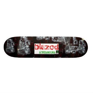 blazed skateboard deck