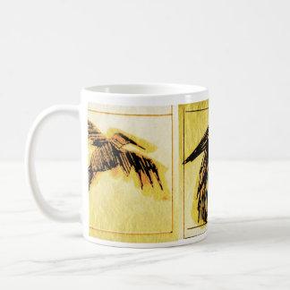 blazen raven basic white mug