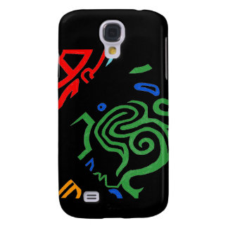 Blazin' Amazing Alien Green Galaxy S4 Case