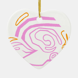 Blazin' Amazing Ceramic Heart Decoration