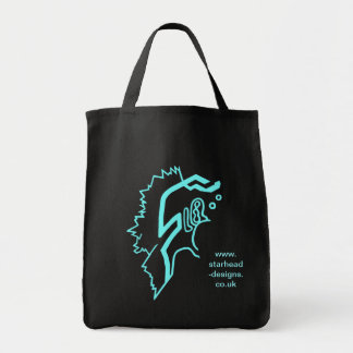 Blazin' Amazing Electric Blue Tote Bag