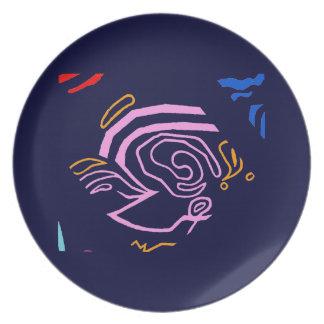 Blazin' Amazing plate