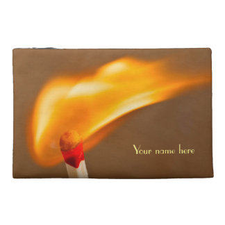 Blazing Flame Travel Accessory Bag