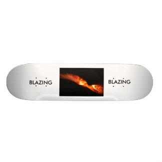 BLAZING SKATE DECK