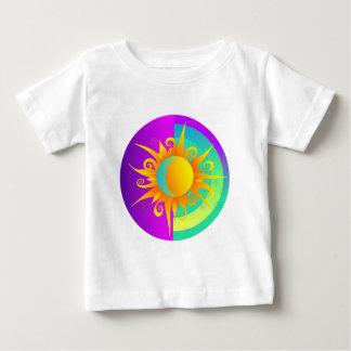 Blazing Sunmoon Purple Baby T-Shirt