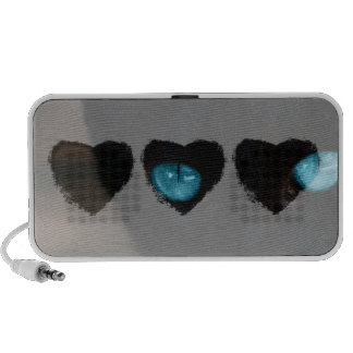 BLCBE Black Cat Blue Eyes Portable Speakers