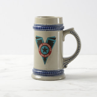 Blck & Blue Beer Stein