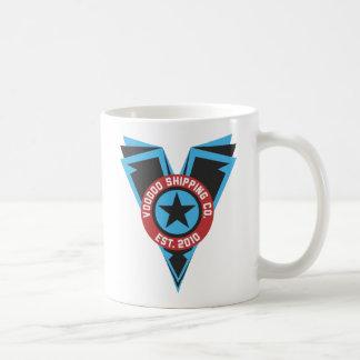 Blck & Blue Logo Basic White Mug