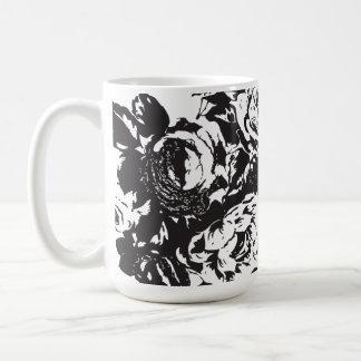 Blck Rose Coffee Cup - 440ml Basic White Mug