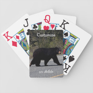BLCR Bear Crossing Bicycle Playing Cards