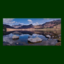 Blea Tarn Panorama - The Lake District Poster