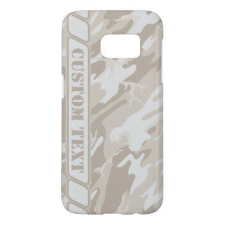 Bleached Wasteland Camo Phone Case w/ Custom Text