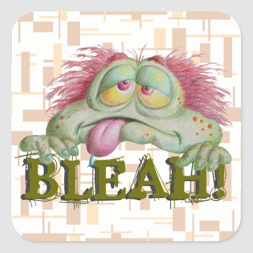 Bleah! Stickers