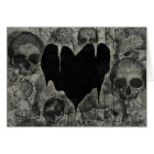 Bleak Heart Gothic Valentine Card