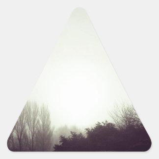 Bleak. Mid. Winter. Triangle Sticker