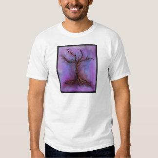 bleak purple tree shirts