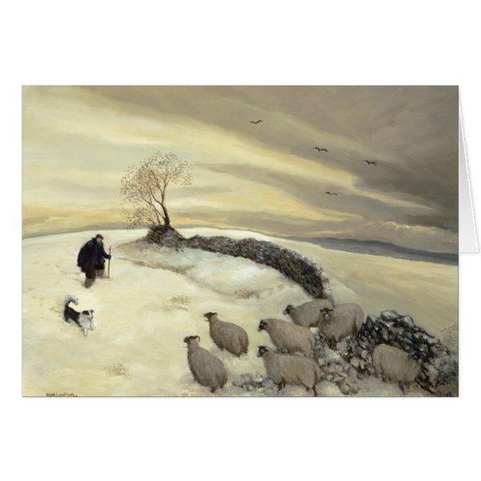 Bleak winter day card