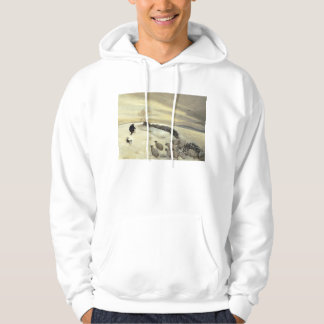 Bleak winter day hoodie