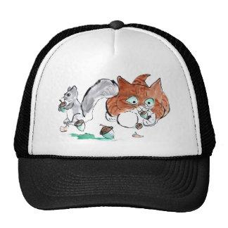 Blech! Kitten Tries to Eat an Acorn Cap