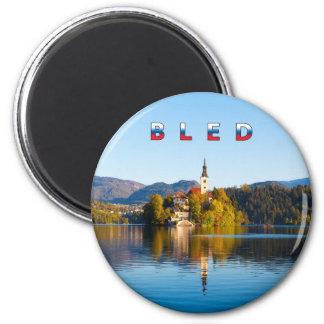 Bled 001C 6 Cm Round Magnet