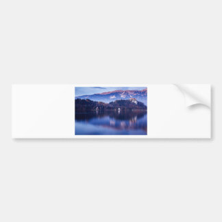 Bled Castle Bumper Sticker