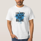 Bleed Black and Blue T-Shirt