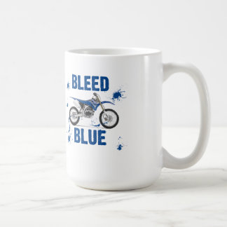 Bleed Blue 13 Basic White Mug