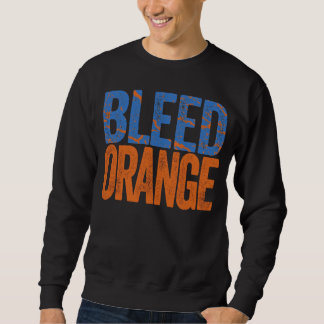 Bleed Orange Sweatshirt