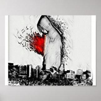 Bleeding Beats Poster
