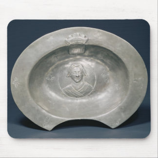 Bleeding bowl, French, 15th century, pewter Mouse Pad