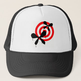 Bleeding Butterfly: Bullseye Trucker Hat