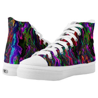 Bleeding Colors Printed Shoes
