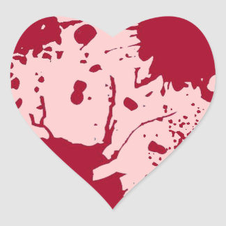 Bleeding Heart 2 Heart Sticker