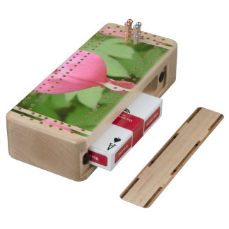 bleeding-heart-7 maple cribbage board