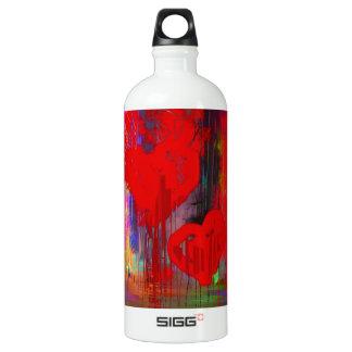 Bleeding Heart Abstract SIGG Traveller 1.0L Water Bottle