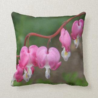 Bleeding Heart Accent Pillow Cushions