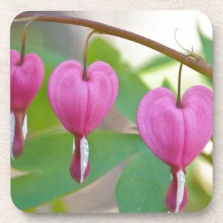 Bleeding Heart Blossoms Drink Coaster