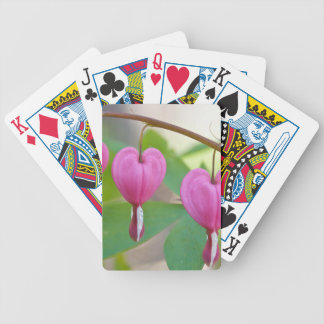 Bleeding Heart Blossoms Playing Cards