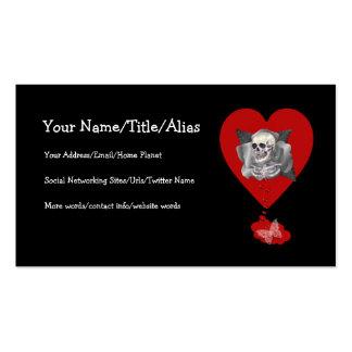 Bleeding Heart Business Card Templates