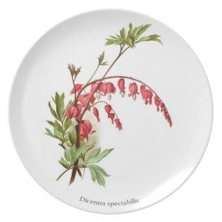 Bleeding Heart Dinner Plate