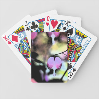 Bleeding Heart Floral Playing Cards