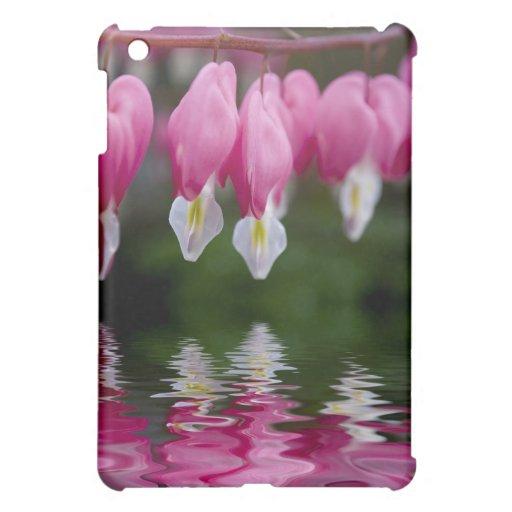 bleeding heart flower iPad mini case
