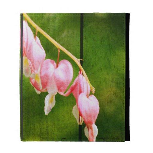Bleeding Heart Flowers iPad Cases