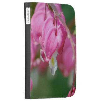 Bleeding Heart Flowers Kindle Folio Case For The Kindle