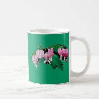 Bleeding Heart Flowers Coffee Mugs