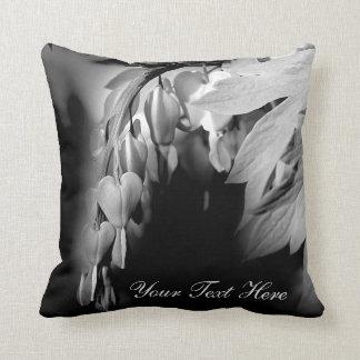 Bleeding Heart Flowers Personalized Cushions